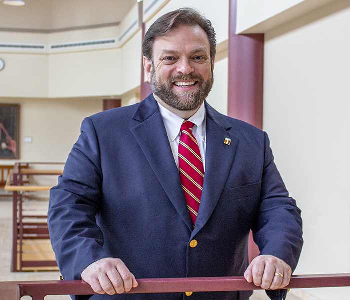 Stritch Vice President for Institutional Advancement and External Relations Marc R. Barbeau