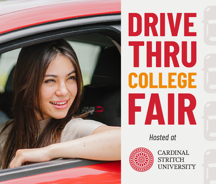 Drive-Thru College Fair at Cardinal Stritch University