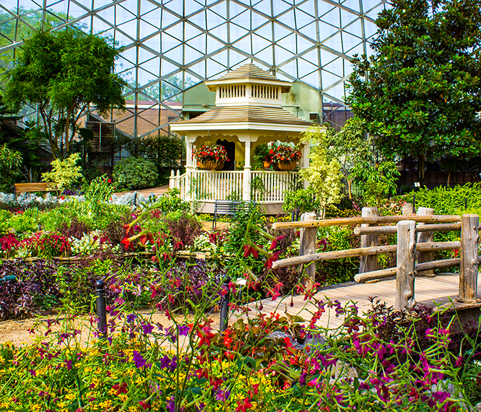<p>Mitchell Park Domes</p>