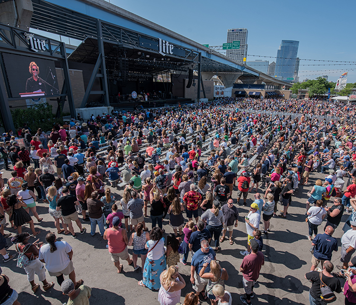 <p>Check out a concert at Summerfest® &nbsp;<i>Photo courtesy of Summerfest®</i></p>