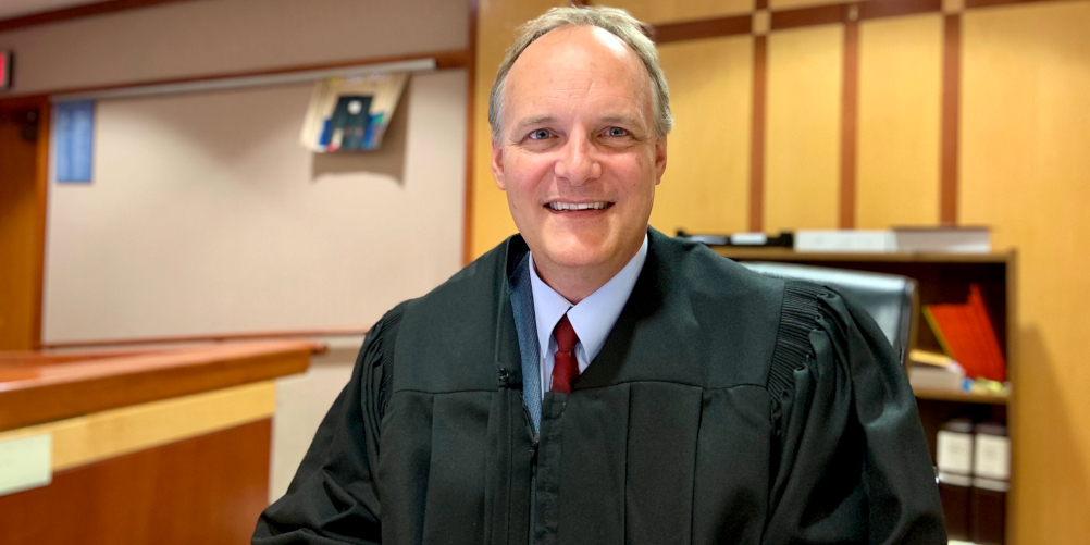 <p>Judge Paul Dedinsky, Ph.D., '12</p>