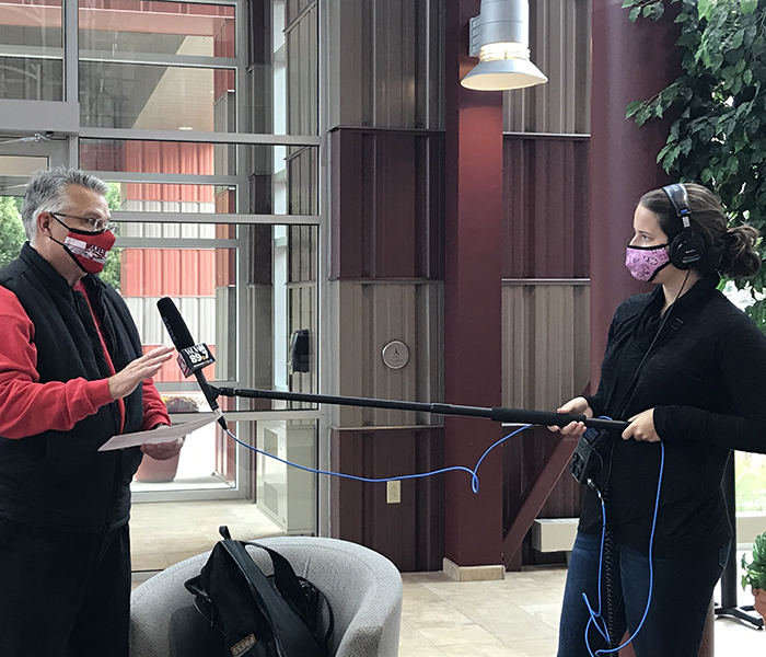 <p>Emily Files of WUWM Radio interviewed Dr. Dan Scholz about the impact of the 2020 Drive-Thru College Fair.&nbsp;</p>